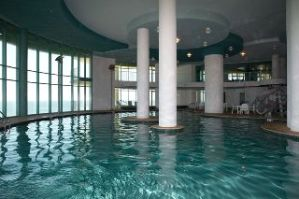 Indoor pool at Turquoise Place in Orange Beach